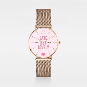 Late But Lovely Women Mesh Watch