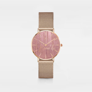Breath-ladies mesh watch