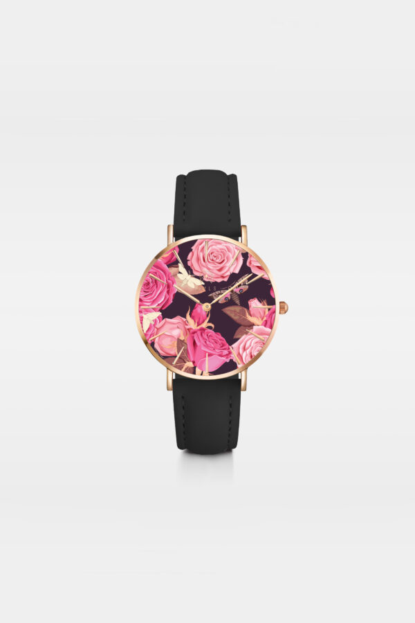 Style Julia - Leather strap watch for women